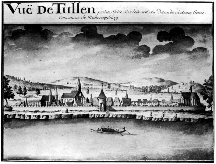 Ansicht von Sparr um 1750